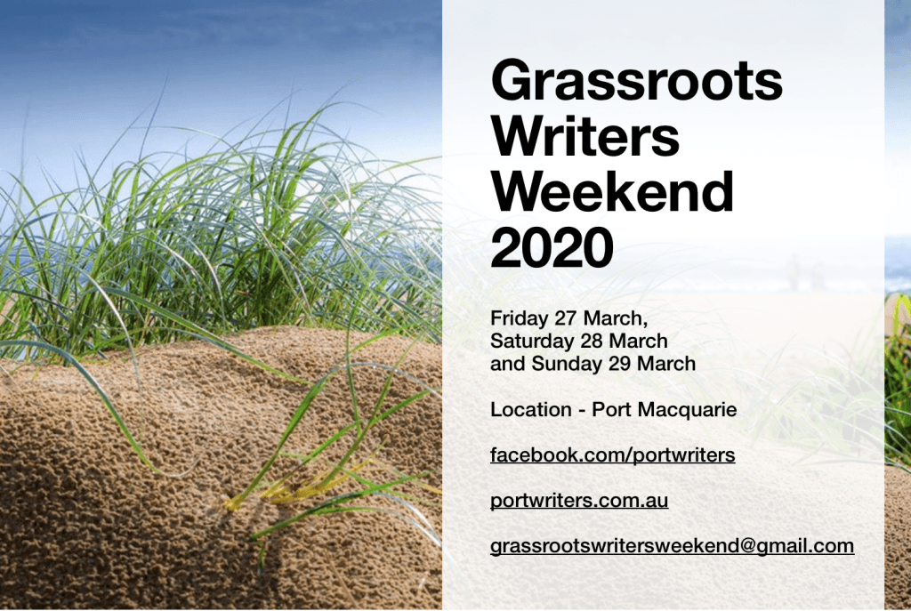 grassroots writers weekend